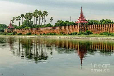 Photograph - Mandalay Citadel 2 by Werner Padarin