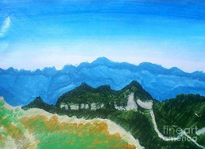 Painting - Mandango Mountain by Josie Weir