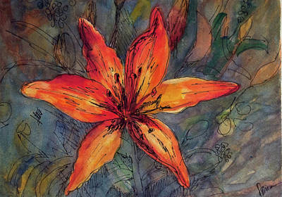 Mandarin Day Lily Original