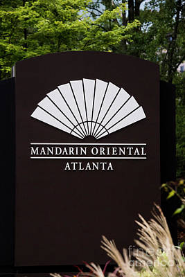 Photograph - Mandarin Oriental by David Bearden