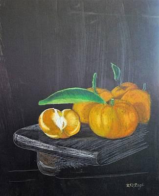 Pastel - Mandarin by Richard Le Page