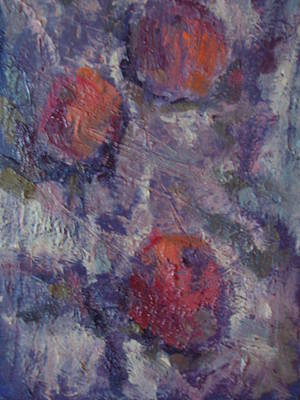 Naturmort Painting - Mandarins by Turbazzi