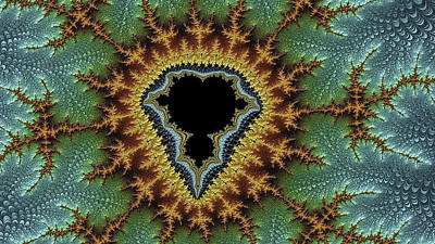 Digital Art - Mandelbrot Fantasy by Fernando Margolles