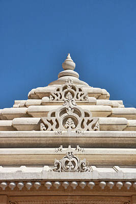 Photograph - Mandir # 3 by Allen Beatty