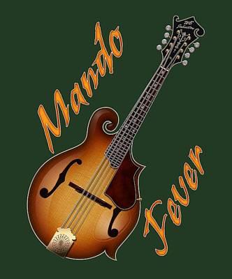 Photograph - Mando Fever T Shirt by WB Johnston