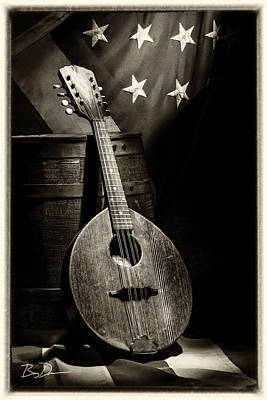 Photograph - Mandolin America Antique by Barry C Donovan