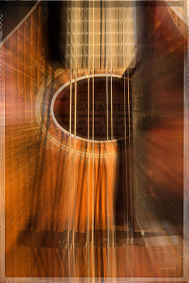 Photograph - Mandolin Sound Explosion by Mick Anderson