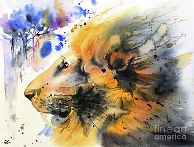 Painting - Mane by Zaira Dzhaubaeva