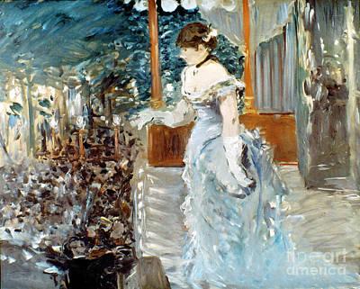 Impressionist Photograph - Manet: Cafe-concert, 1879 by Granger