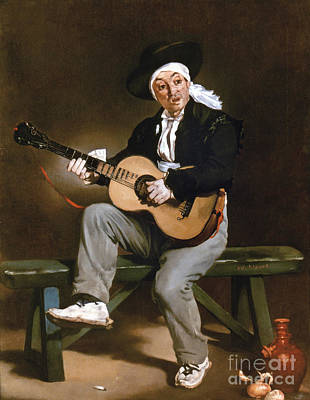 Impressionist Photograph - Manet: Guitarero by Granger