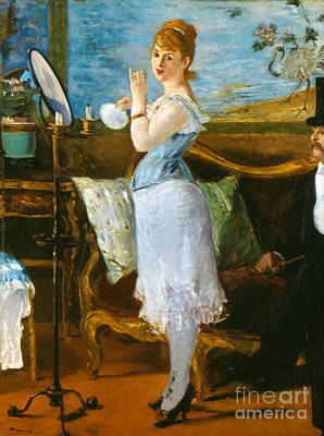 Manet: Nana, 1877 Art Print by Granger