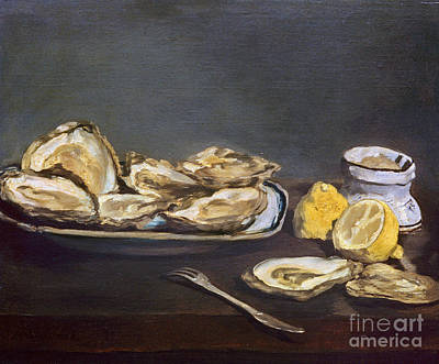 Manet: Oysters, 1862 Art Print by Granger