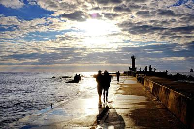 Photograph - Mangalsala Pier by Fabrizio Troiani