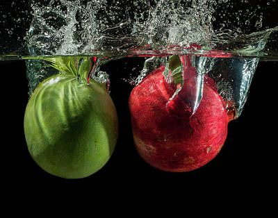 Wall Art - Photograph - Mango And Pomegranate by Martin Varga
