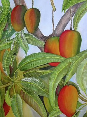 Recently Sold - Still Life Royalty-Free and Rights-Managed Images - Mango Mango by Terry Arroyo Mulrooney