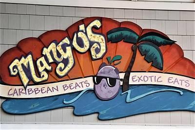 Photograph - Mango's Restaurant by Kim Bemis