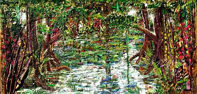 Mangrove Forest Painting - Mangroove by Samuel Miller