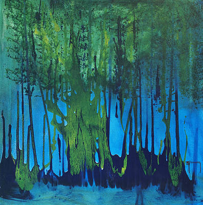 Mccoy Painting - Mangroves by Nickola McCoy-Snell