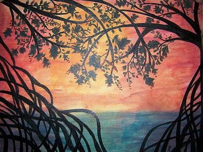 Mangroves Art Print by Patti Spires Hamilton