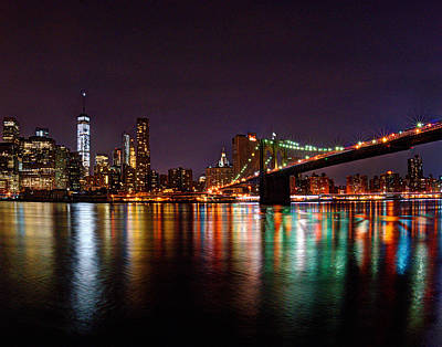 Photograph - Manhattan 035 by Jeff Stallard