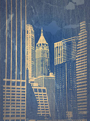 Manhattan 1 Print by Naxart Studio