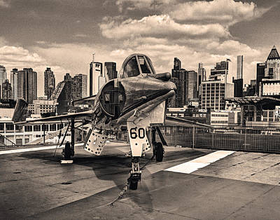 Photograph - Manhattan Air Force 001 by Jeff Stallard