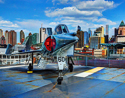 Photograph - Manhattan Air Force 002 by Jeff Stallard