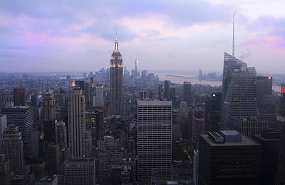 Photograph - Manhattan At Dawn by Jed Holtzman