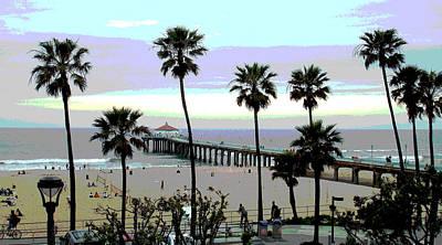 Redondo Beach Pier Wall Art - Photograph - Manhattan Bch Pier 1245 by South Bay Skies