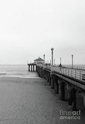 Photograph - Manhattan Beach Pier On Film by Ana V Ramirez