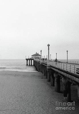 Photograph - Manhattan Beach Pier On Film by Ana V Ramirez