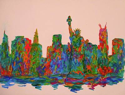 Painting - Manhattan Beauty by Kendall Kessler