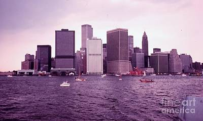 Twin Towers Painting - Manhattan Before 9-11 by Celestial Images