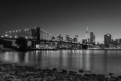 Photograph - Manhattan Black And White by Alejandro Cupi