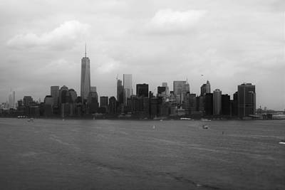 Photograph - Manhattan Black And White by Parker O'Donnell