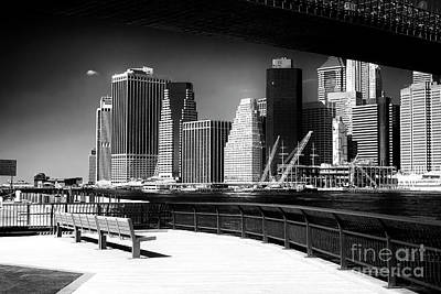 Photograph - Manhattan Boardwalk View by John Rizzuto