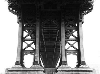 Manhattan Bridge Art Print by Adam Garelick