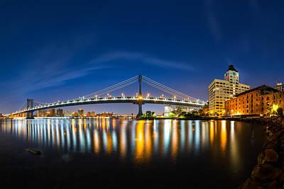 Photograph - Manhattan Bridge At Dawn by Mihai Andritoiu