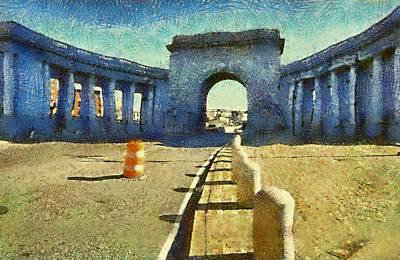 Manhattan Bridge Art Print by Charles Chin