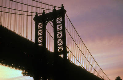 Photograph - Manhattan Bridge by Gerard Fritz