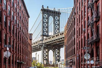 Photograph - Manhattan Bridge, New York City, Usa by Matteo Colombo