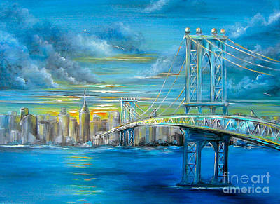 Painting - Manhattan Bridge by Patrice Torrillo