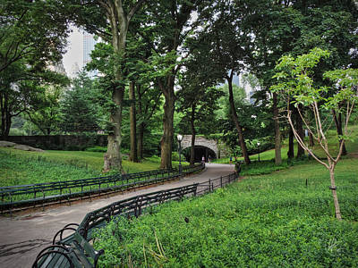 Central Park Photograph - Manhattan - Central Park 001 by Lance Vaughn