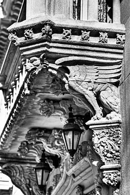 Photograph - Manhattan East Side Building Detail by Val Black Russian Tourchin