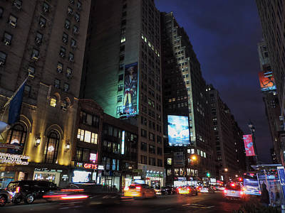 Photograph - Manhattan - Fashion Ave. 001 by Lance Vaughn
