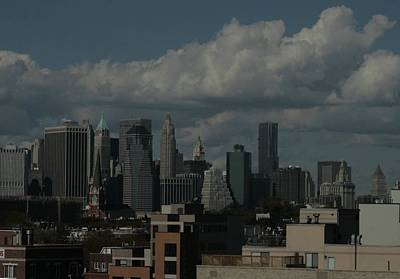 Photograph - Manhattan From Gowanus Viaduct by Christopher Kirby