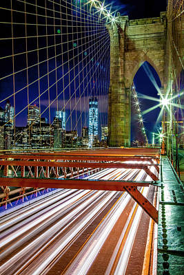 Photograph - Manhattan Gateway by Az Jackson