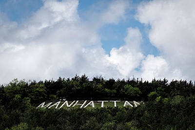 Photograph - Manhattan Hill by Scott Bean
