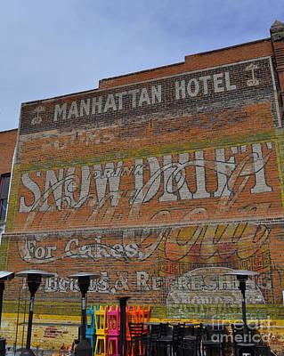 Photograph - Manhattan Hotel by Anjanette Douglas