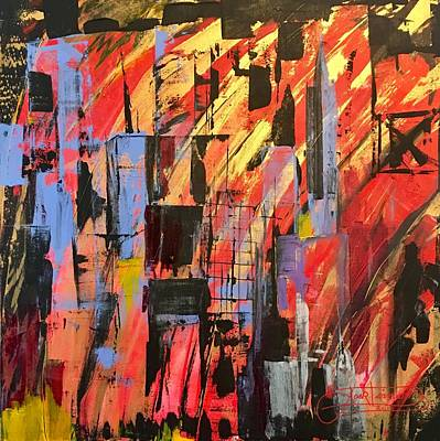Painting - Manhattan Life by Jack Diamond